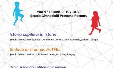 Teatru în Educație by Asociația Transcena @ Școala Gimnazială Petrache Poenaru