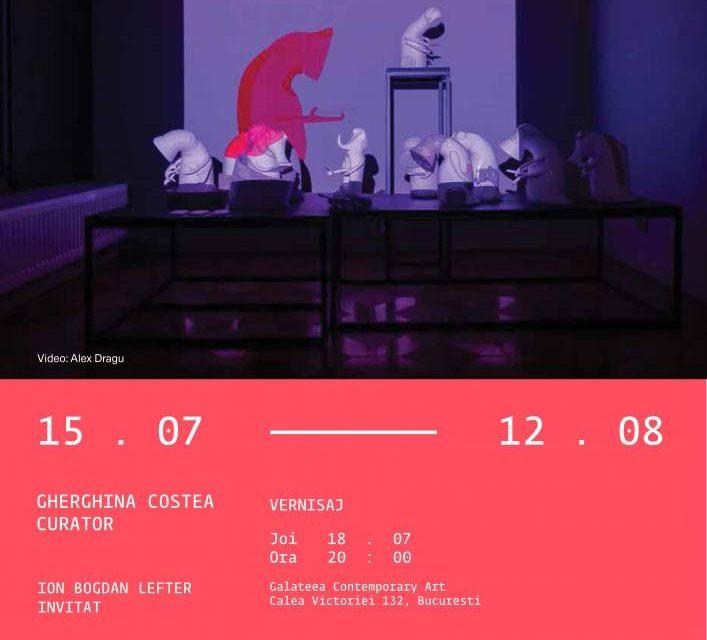 #ANTROPOCIBERNETICUS l solo show Anca Vintilă Dragu @ Galateea Contemporary Art, București