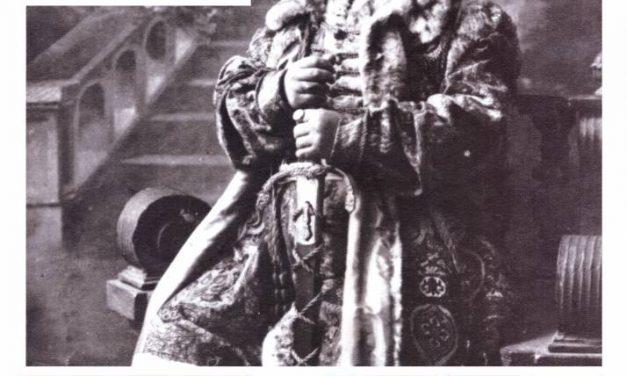 Expoziție tematică dedicată marelui actor Constantin I. Nottara @ Muzeul Municipiului București