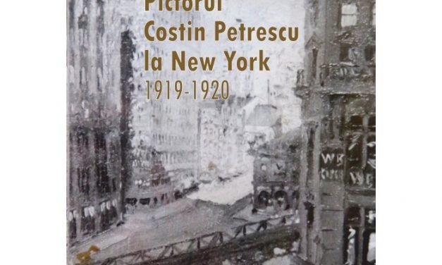 """Lansare de carte Eduard Andrei """"Pictorul Costin Petrescu la New York, 1919-1920"""", Editura Paideia la Muzeul Municipiului București / Palatul Șuțu"""