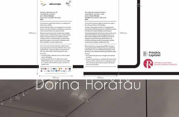 """Dorina Horătău instalația """"Iarba de la Palat"""" prezentă în expoziția """"Déviations"""" @ Centrul Cultural """"Palatele Brâncovenești"""", Mogoșoaia"""