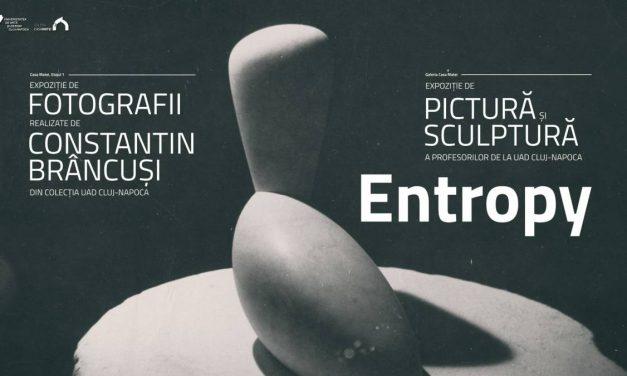 """Dublă expoziție """"Entropy"""" @ Casa Matei și Galeria Casa Matei a Universității de Artă și Design din Cluj-Napoca"""