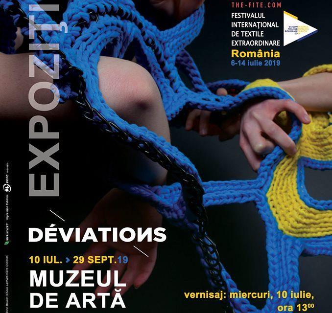 """Expoziția """"Déviations"""" la Muzeul de Artă Braşov"""