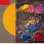 "Expoziția""Colour Fields""Radu Comșa & Simion Cernica la ICR Budapesta"