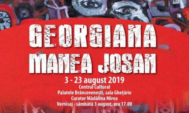 """Expoziție Georgiana Manea Josan """"Grădina secretă"""" @ Centrul Cultural """"Palatele Brâncovenești de la Porțile Bucureștiului"""""""