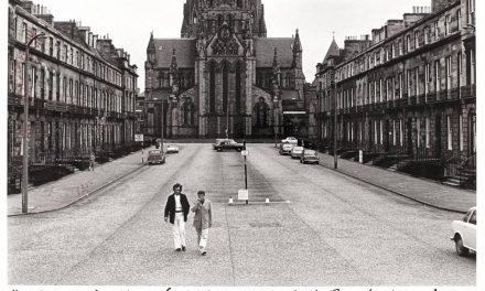 Horia Bernea și Paul Neagu, la Edinburgh, cu prilejul Edinburgh Festival, 1971