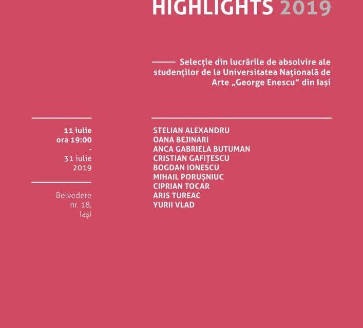 Graduation Highlights 2019 – selecție din lucrările absolvenților UNAGE @ Borderline Art Space, Iași