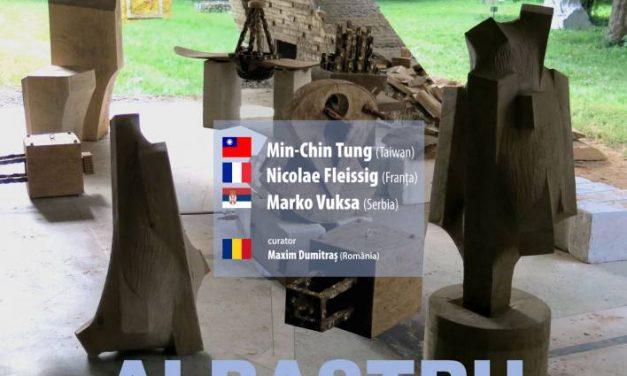 """Închidere a programului internațional de rezidențe artistice de sculptură """"Albastru"""", ediția a III-a @ Centrul de Cultură """"George Apostu"""""""
