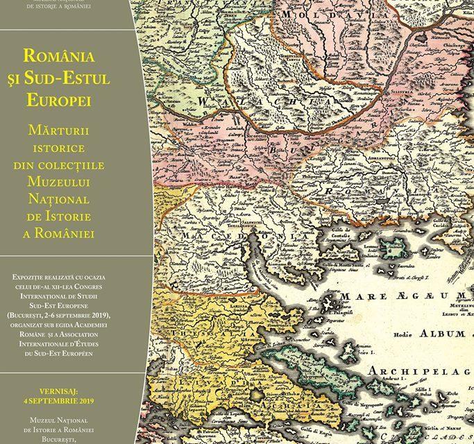 """Expoziţia """"România şi Sud-Estul Europei. Mărturii istorice din colecţiile Muzeului Naţional de Istorie a României"""", la MNIR"""