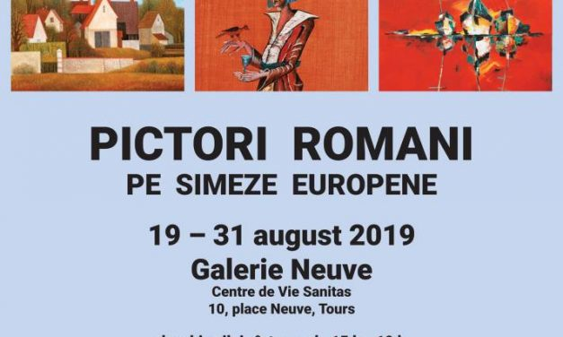"""Expoziția Asociației Soleil de l'Est: """"Pictori români pe simeze europene"""" @ Galerie Neuve, Centre de Vie Sanitas"""