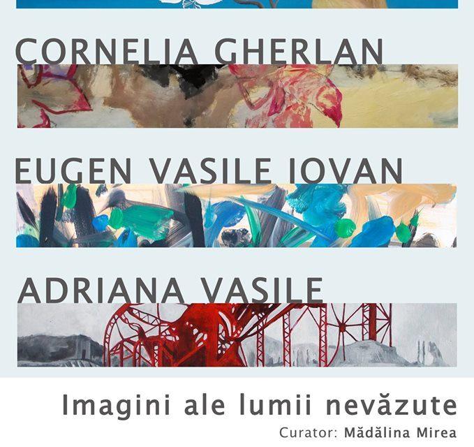 """Expoziție """"Imagini ale lumii nevazute"""" @ Galeria Galateca, București"""