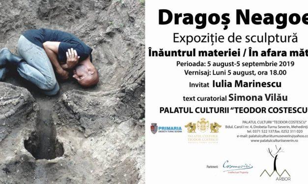 """Expoziție Dragoș Neagoe """"Înăuntrul Materiei/În afara Matcii"""" @ Palatul Theodor Codrescu, Muzeul de Artă din Drobeta Turnu Severin"""