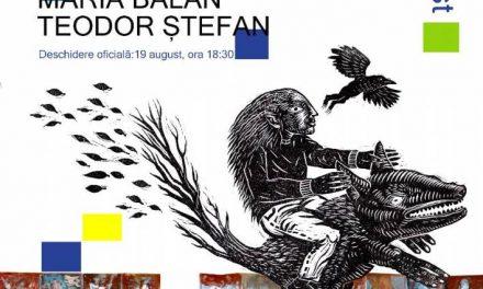 Expoziție #FRESH 2019: Maria Bălan și Teodor Ștefan @ Elite Art Gallery, București