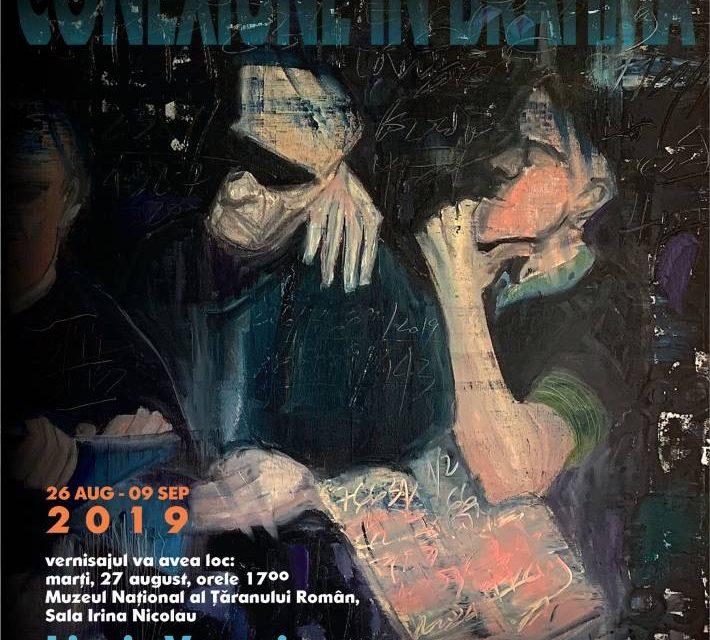 """Expoziție de pictură și grafică de Liusic Vrapciu și Vladimir Păun-Vrapciu """"Conexiune în Brahma"""" @ Muzeul Național al Țăranului Român"""