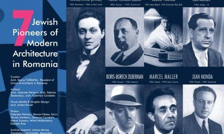 """Expoziția """"7 Pionieri Evrei ai Arhitecturii Moderne din România"""" și participare românească la ECOWEEK 2019"""