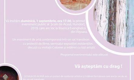 COLONIA ARTIȘTILOR ȘCOALA DE-ACASĂ, HUNDORF, 2019