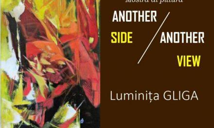 """ExpoziţiedepicturăLuminiţaGliga """"Another side/another view"""" @ Mica Galerie a Institutului Român de Cultură şi Cercetare Umanistică de la Veneţia"""