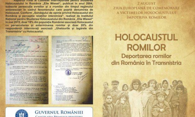 Ziua Europeană de Comemorare a Victimelor Holocaustului Împotriva Romilor @ Muzeul Național al Țăranului Român