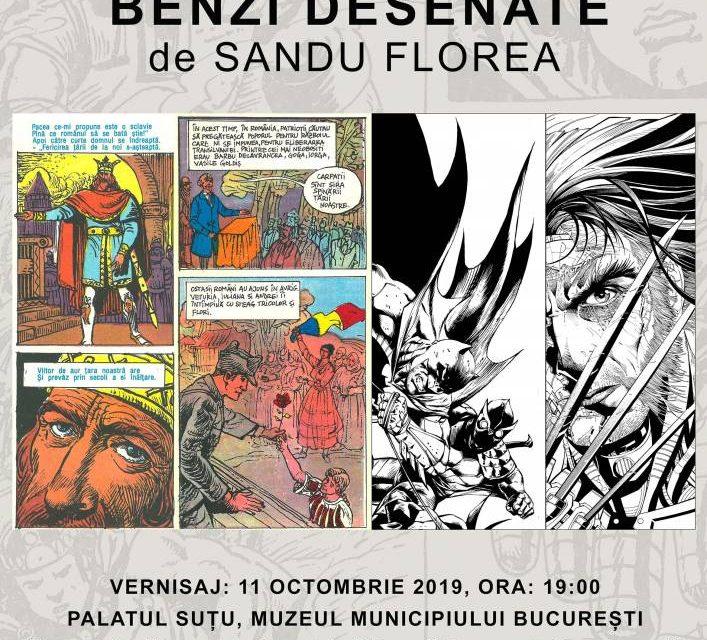 De la New York la Palatul Suțu: o călătorie în benzi desenate alături de artistul româno-american Sandu Florea