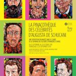 Expoziția «Pinacoteca Celebrităților», a artistei franco-române Augusta de Schucani @ Institutul Cultural Român din Paris