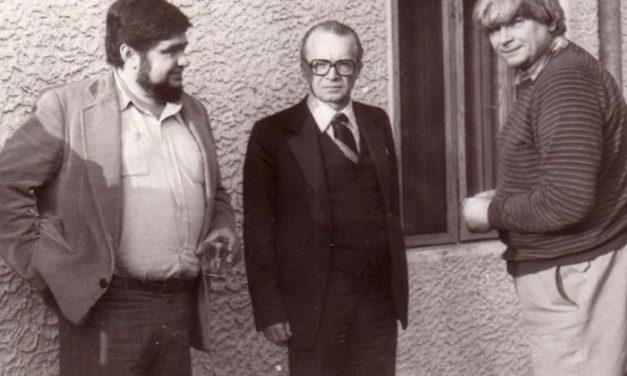 Andrei Pleșu, Ion Frunzetti și Nichita Stănescu