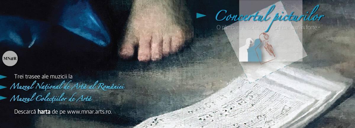 """Concertul picturilor. O plimbare """"moderato"""" printre lucrări """"forte"""" O campanie inedită la MNAR!"""