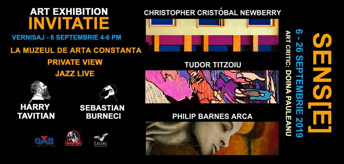 """Expoziție """"Sens[e]"""" @ Muzeul de Artă din Constanța"""