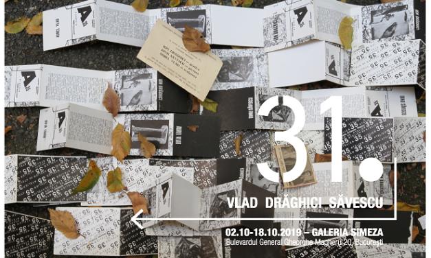 """Expoziție Aurel Vlad, Dinu Săvescu, Ion Drăghici """"31 Punct și de la capăt"""" @ Galeria Simeza din București"""