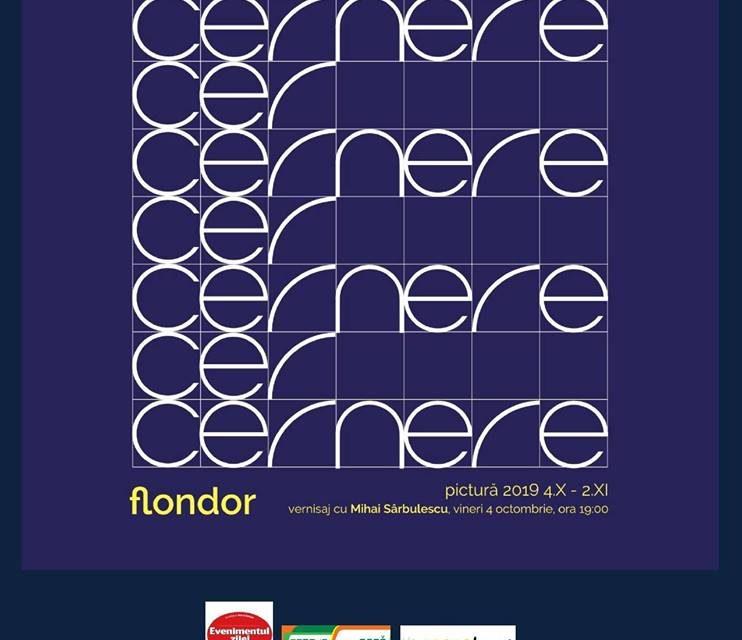 """Expoziție Constantin Flondor """"Cernere-Cer"""" @ Galeria Romană, București"""