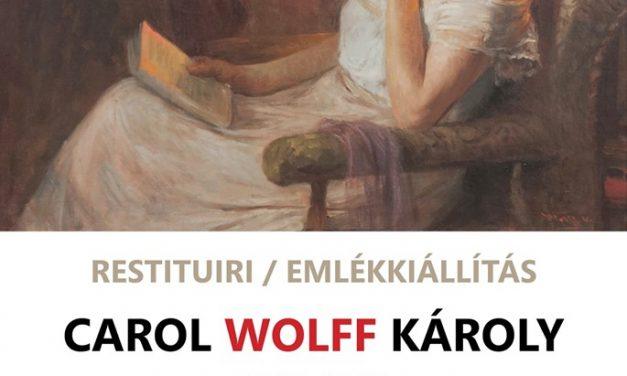 """Expoziție de pictură """"Restituiri. Carol Wolff"""" la Sala """"Ovidiu Maitec""""/ Muzeul de Artă Arad"""