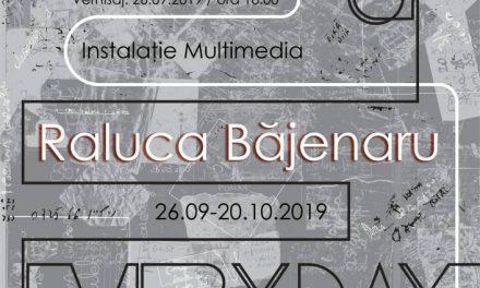 Maps of Everyday – Raluca Băjenaru, instalație multimedia, Muzeul Național al Hărților și Cărții Vechi