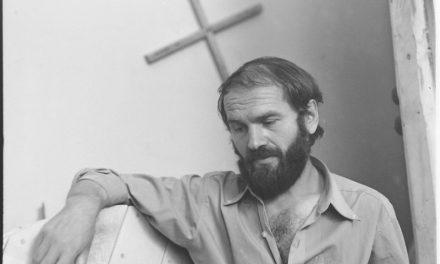 Sculptorul Mircea Spătaru