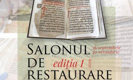 Salonul de restaurare literară ediția I @ Muzeul Național al Literaturii Române