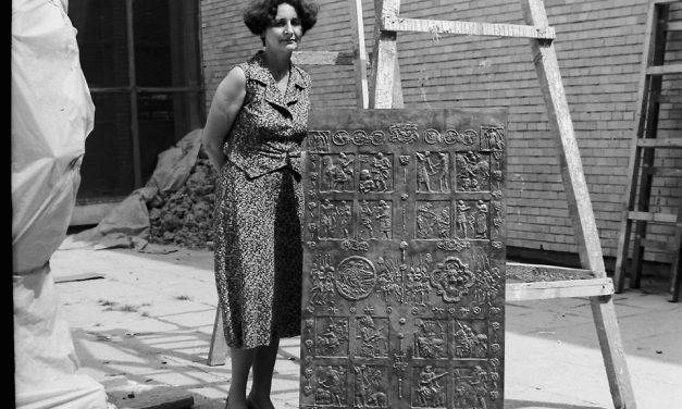 Silvia Radu și câteva din lucrările sale