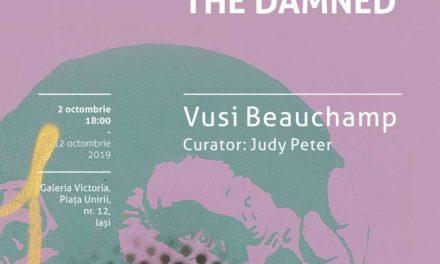 """Expoziția """"Paradyse of the Damned"""" a artistului sud-africa Vusi Beauchamp @ Galeria Victoria din Iași"""