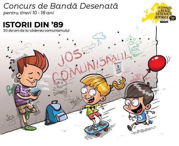Concurs de BD pentru tineri între 10 și 18 ani @ Festivalul de Benzi Desenate Istorice Brașov 2019
