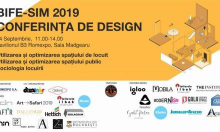Conferința de design 2019, Romexpo: despre utilizarea și optimizarea spațiilor