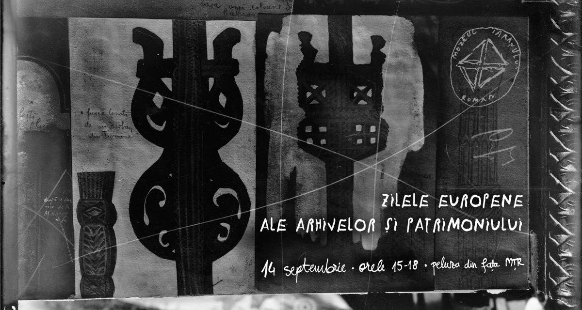 Zilele Europene ale Patrimoniului sărbătorite altfel la Arhiva de Imagine a Muzeului Național al Țăranului Român