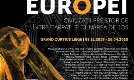 """România prezintă """"Originile Europei"""", prin artefacte cu o vechime de aproape șapte mii de ani, la festivalul EUROPALIA"""