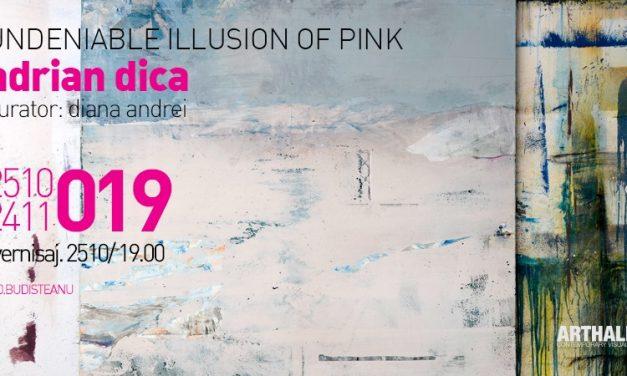 """Expoziţie Adrian Dică """"Undeniable illusion of pink"""" @ Arthalle Gallery, București"""