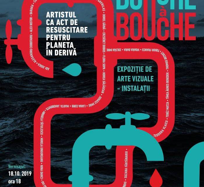"""Expoziția """"Bouche a bouche – artistul ca act de resuscitare pentru planeta în derivă"""" @ Galeriile de Artă – Reperaj Cetate, Oradea"""