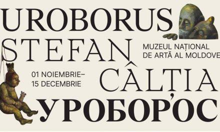 """Expoziție """"Uroborus. Ștefan Câlția"""" @ Muzeul Național de Artă al Moldovei, Chișinău"""