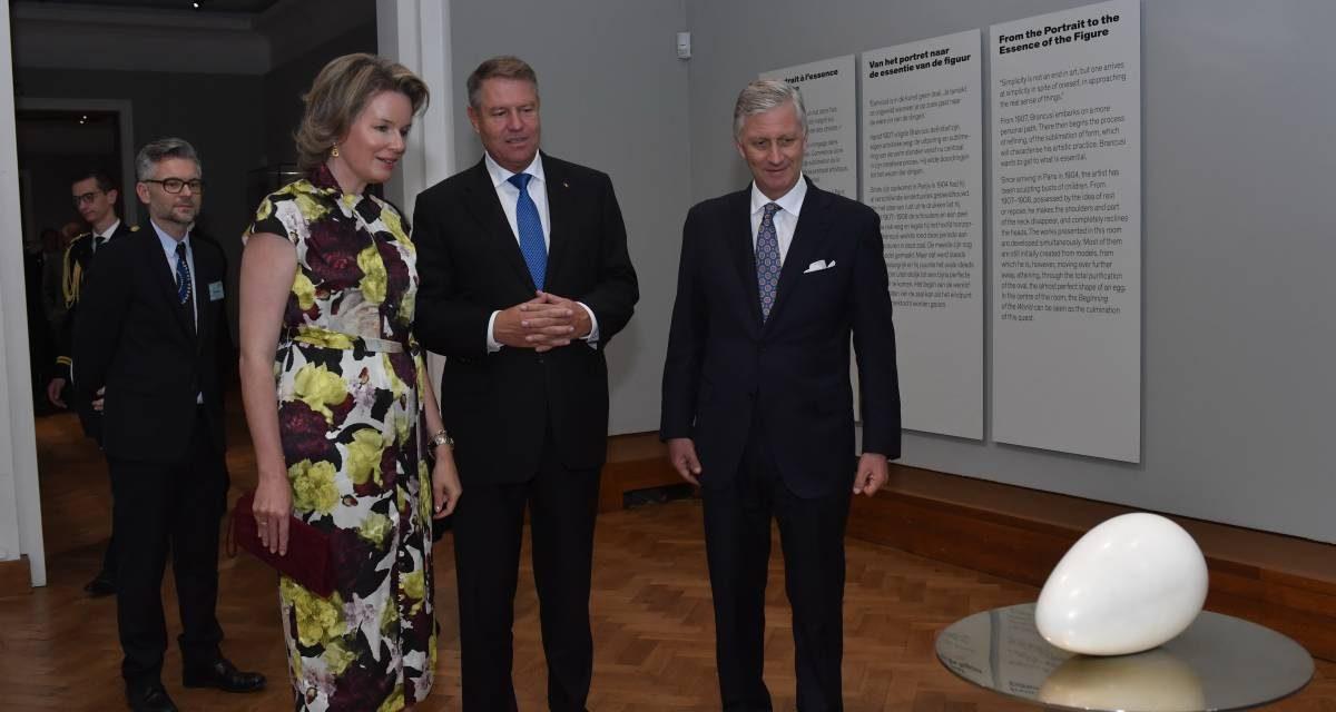 Regele şi Regina Belgiei, preşedintele României şi peste 1.000 de oficiali, la deschiderea EUROPALIA România 2019