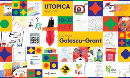 Expoziția interactivă UTOPICA la Conacul Golescu-Grant
