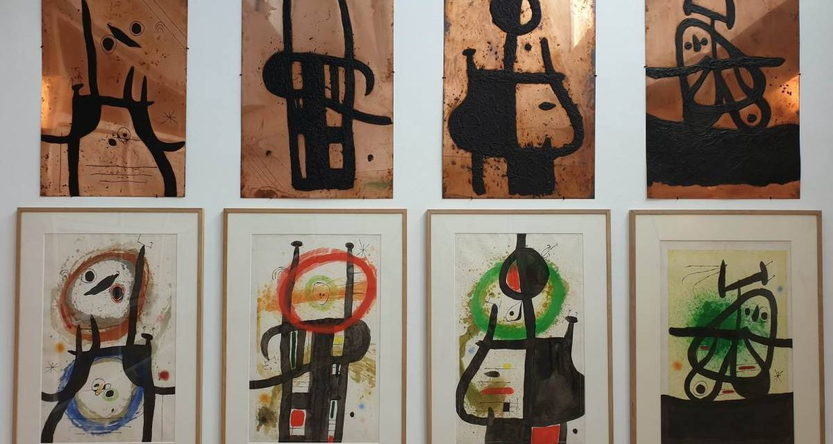 Joan Miró – Beyond painting @ Fondation Maeght