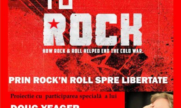 """Documentarul """"Free to Rock"""" adus de Ambasada SUA la Spatiu Docuart Bucuresti, în prezența producătorului"""