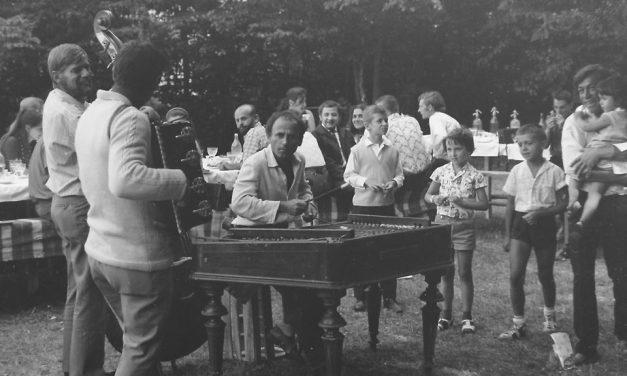 Petrecerea de încheiere a Taberei de la Măgura, ediția a doua, 1971
