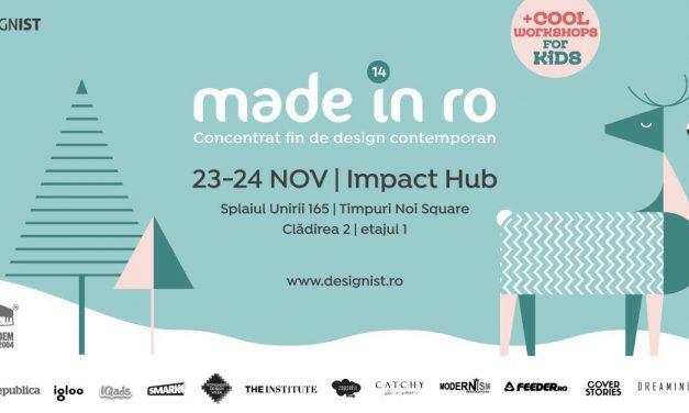 Târgul Made in RO – Concentrat fin de design contemporan 110 creatori aduc #DesignCrăciunul mai devreme