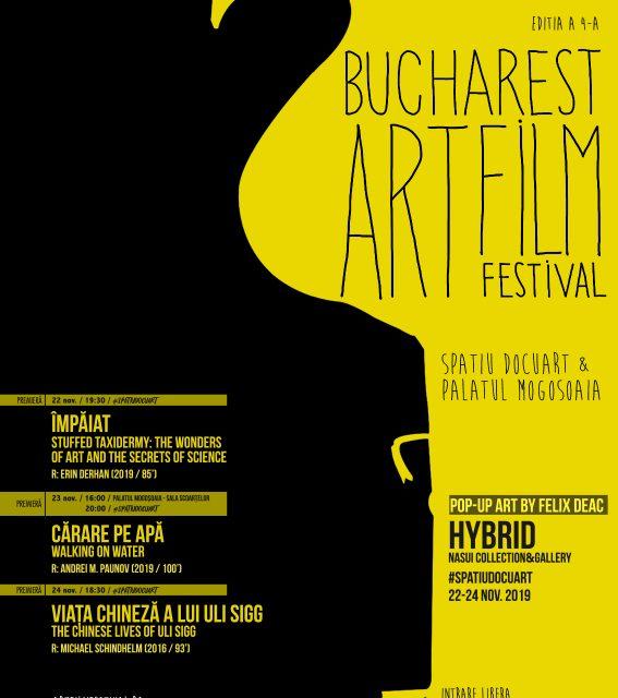 Bucharest Art Film Festival aduce filme de(spre) artă în premieră  în România