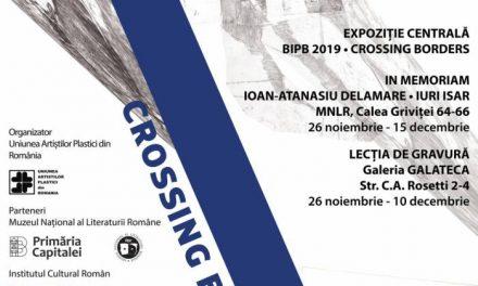 Bucharest International Print Biennale – BIPB 2019/ Crossing borders@ Muzeul Naţional al Literaturii Române